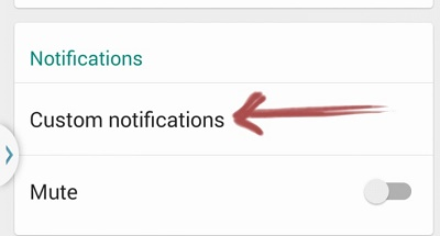 Custom Notifications
