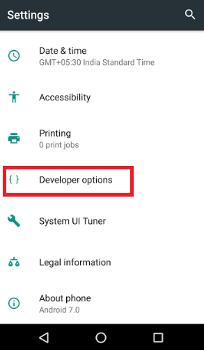 How to turn on Demo Mode in Android 7 0 Nougat?