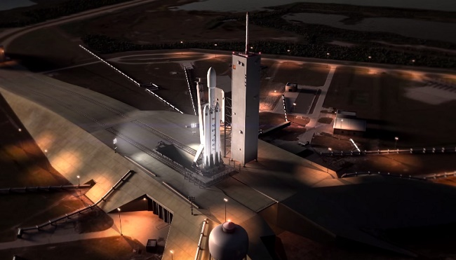 World's first reusable Rocket: FALCON HEAVY