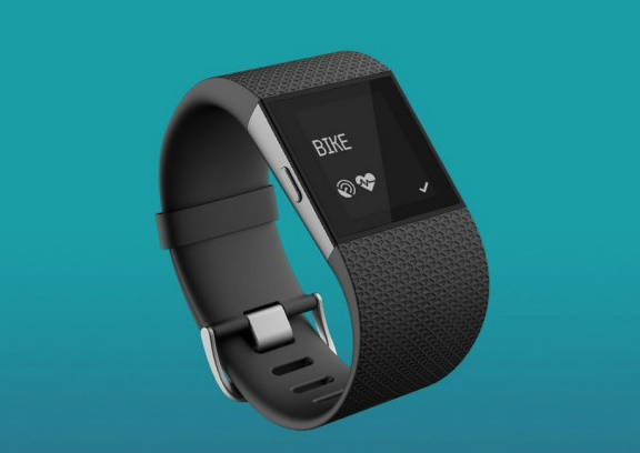 Fitbit Surge Gets Updated with a Bike Tracker