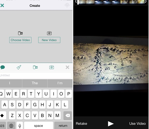 You can turn Videos into GIFs On An iOS device with Gyf app