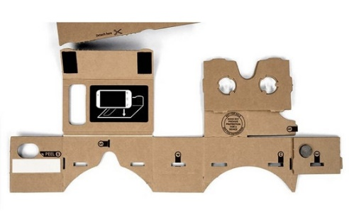Google cardboard VR toolkit