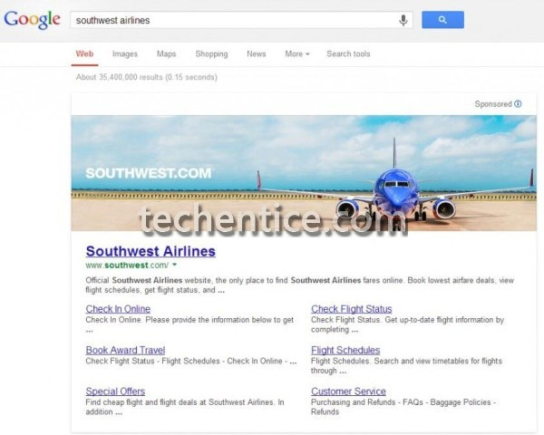 Google reverses promise made in 2005 not to use banner ads in searches