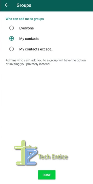How To Block Group Invites In WhatsApp