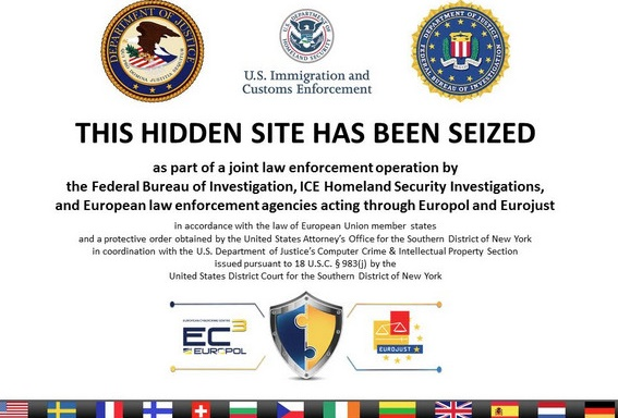 Massive raid shut down more than 400 dark net websites