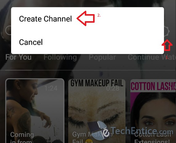 igtv in instagram create channel