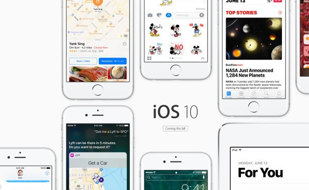 Apple releases iOS 10 Developer Beta 8 and Public Beta 7