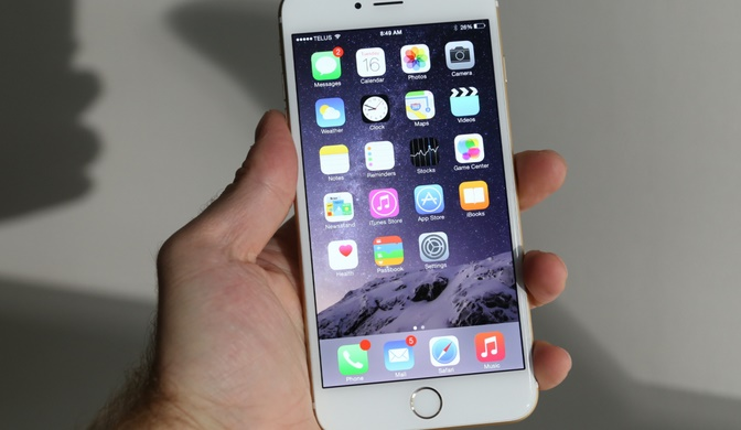 iPhone 6 allegedly exploded during a call