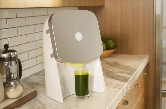 Juicero An expensive juicer with Wi-Fo connectivity