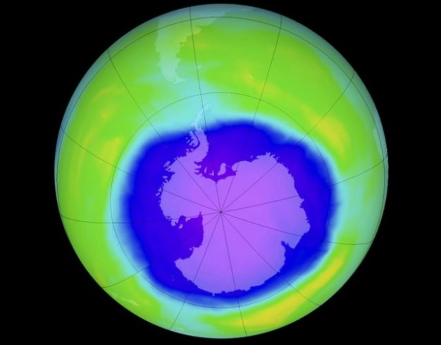 Researchers say Ozone Hole over Antarctica healing slowly