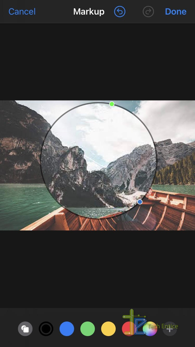 How To Magnify A Part Of A Photo On iOS Devices