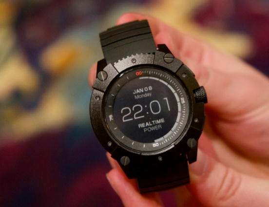 Battery-Free Smartwatch