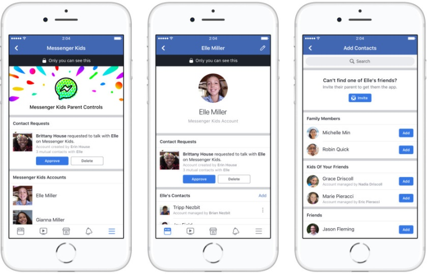 Facebook Launches Messenger Kids App for Children
