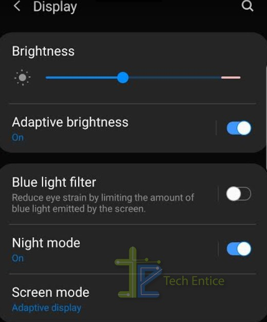 NIGHT MODE ANDROID ONE UI