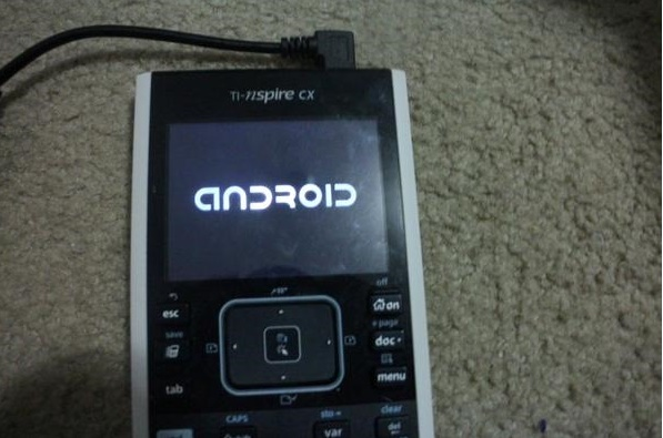 Android ported on Graphical Calculator