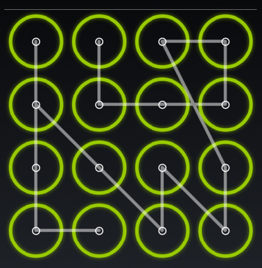Android screen lock patterns have become predictable