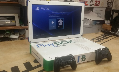 The giant PlayBox- consolidated Xbox One and PS4