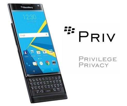 BlackBerry to bring Android 6.0 Marshmallow update to Priv smartphones in 2016