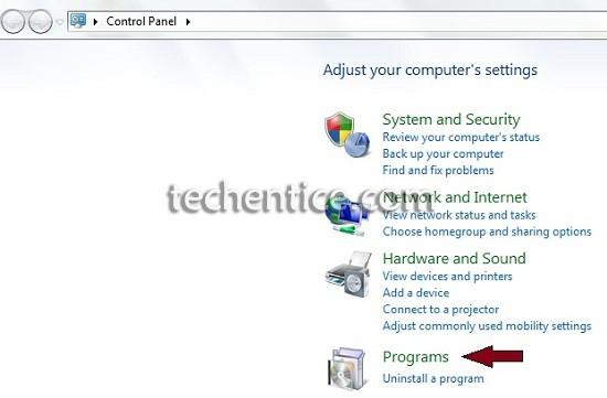 Click Programs