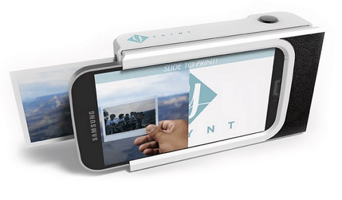 Prynt can convert phone into a picture-printing Polaroid camera