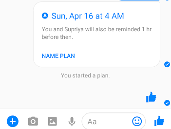 How Create Plans and Set Reminders on Facebook Messenger?