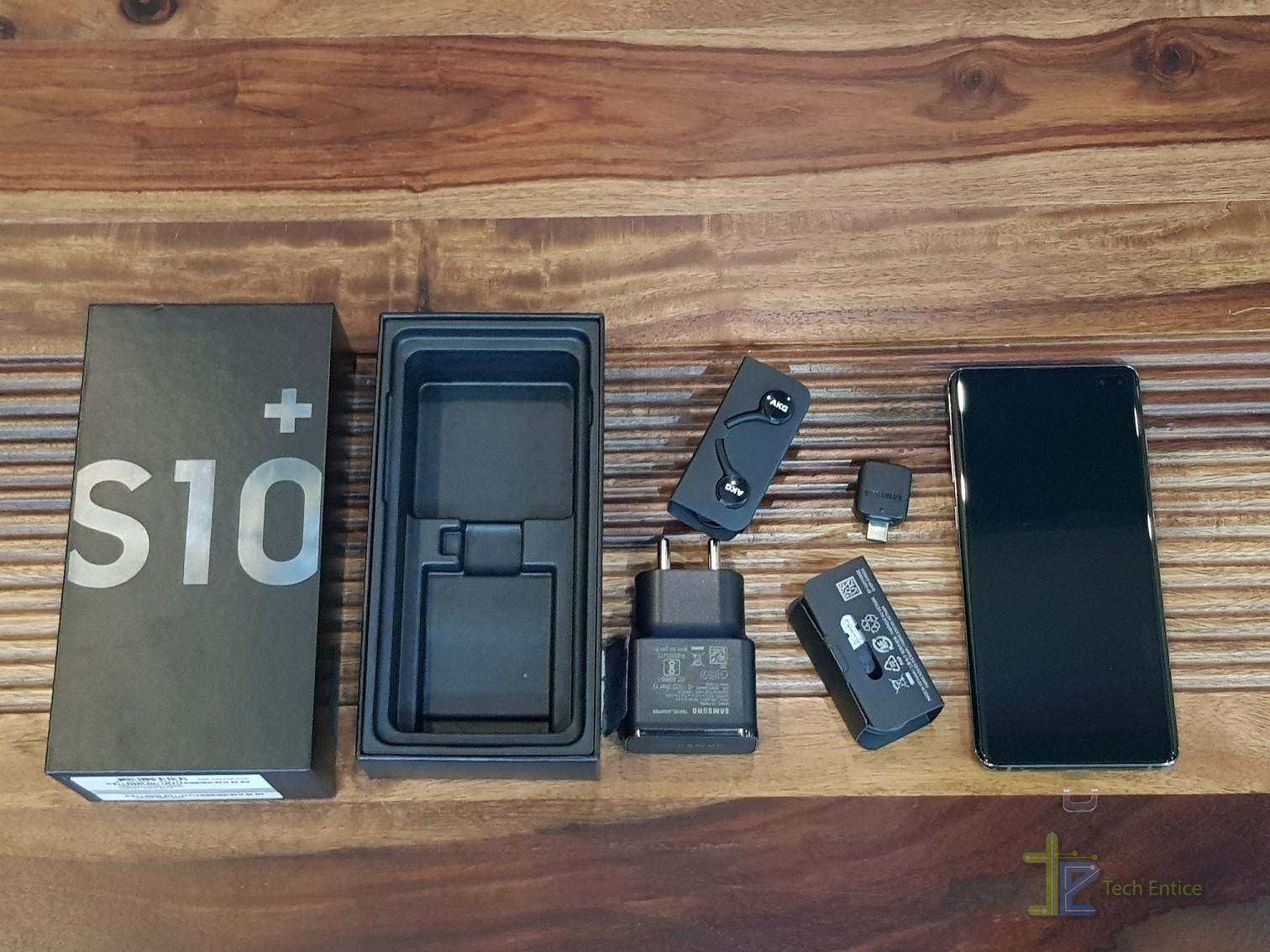 s10 plus unbox