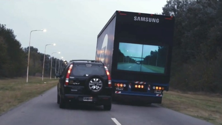 Samsung makes prototype for Safety Trucks
