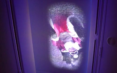 Santa presents gifts Virgin Atlantic flight passengers in mid-air with a little help from Microsoft