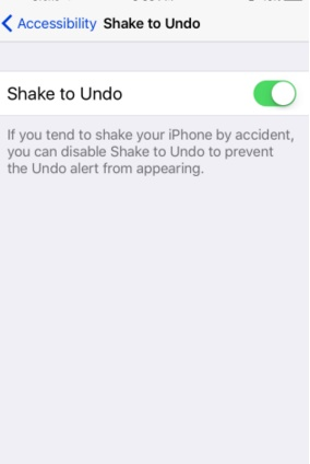 How to disable Shake to Undo Typing in iOS 9