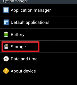 How to release storage space by cleaning the cache memory on your Android device
