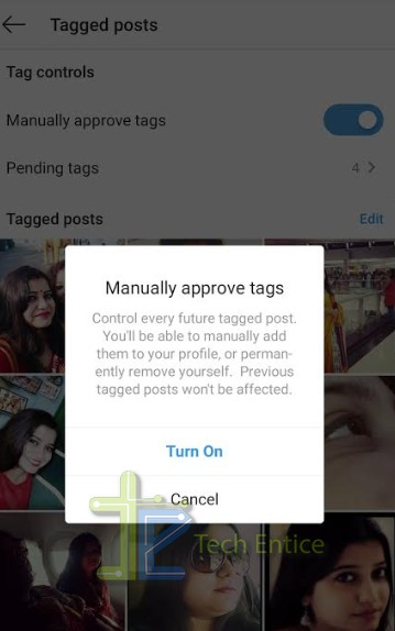 How To Review Tag Request On Instagram