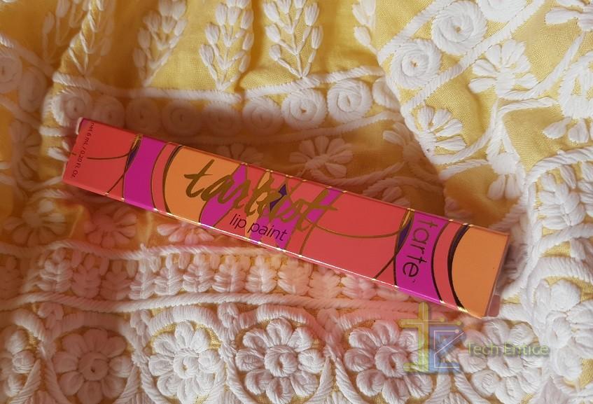 "Tarte Tarteist Lip Paint Shade ""Bestie"": Review And Swatch"