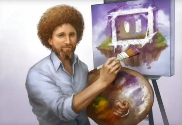 Twitch opens a Hub where you can watch artists while creating their artworks