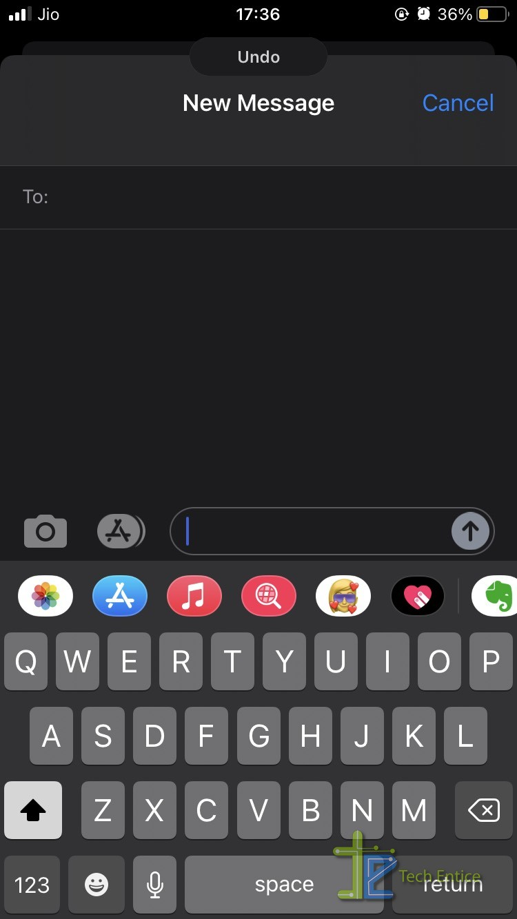 How To Disable Undo Typing On iOS
