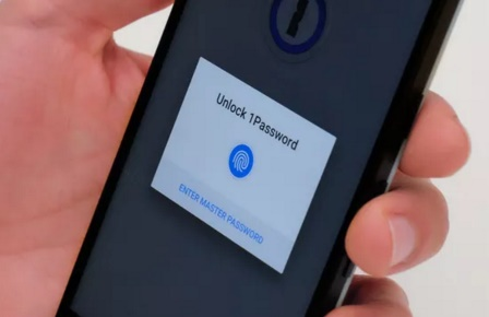 1Password app for Android supports fingerprint unlock feature