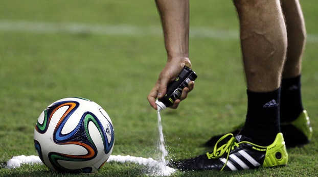 World Cup byte: mystery of vanishing spray unveiled