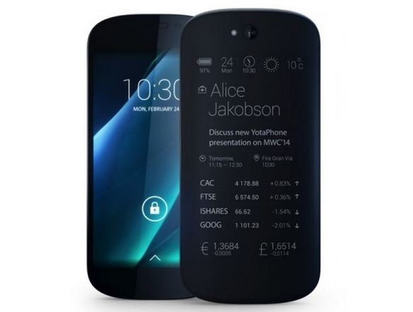 YotaPhone 2 not coming to the United States
