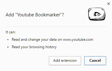 YouTube Bookmarker