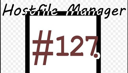 windows host file manager