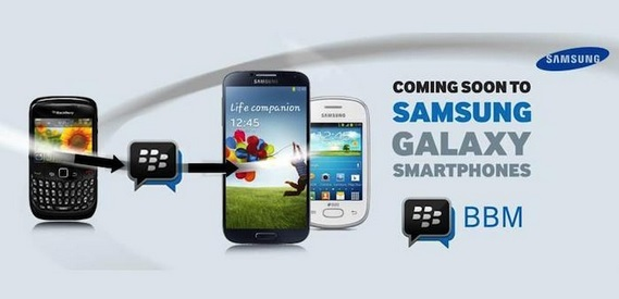 bbm coming to samsung galaxy devices