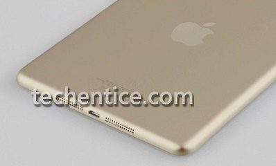 Images apparently reveal next-gen iPad mini in gold with fingerprint scanner