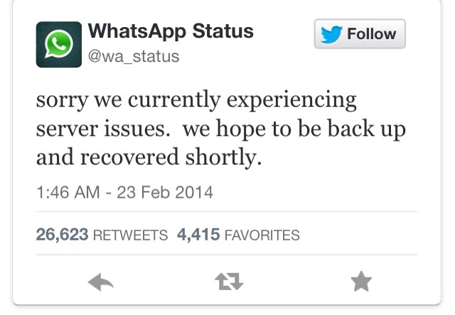 Whatsapp Is Down Because Of Some Server Issues Tech Entice