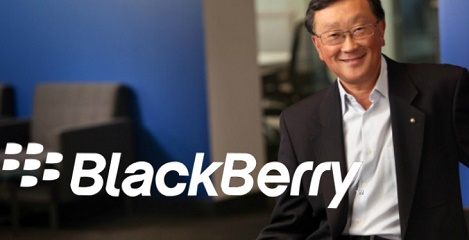 "BlackBerry CEO takes a jab at iPhone battery, calls users ""wall huggers"""