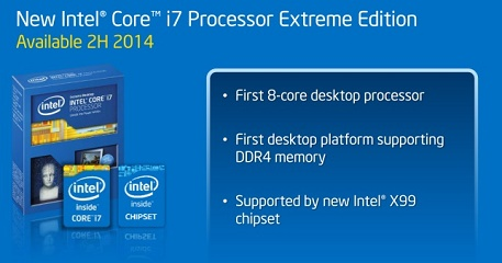 Intel announces a variety of Extreme Edition processors i7