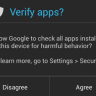 Android Verify Apps