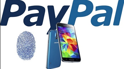 PayPal releases new app to use with Galaxy Gear, utilizes S5 fingerprint reader