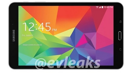 Samsung Galaxy Tab 4.8 for Verizon leaks out