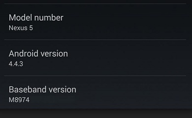 Nexus devices to be updated to Android Kitkat 4.4.3