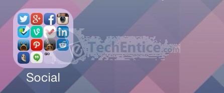 Customize Folder Layout & Enable Nested Folders In iOS 7 With FolderEnhancer