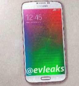 Leaked images of Samsung Galaxy F